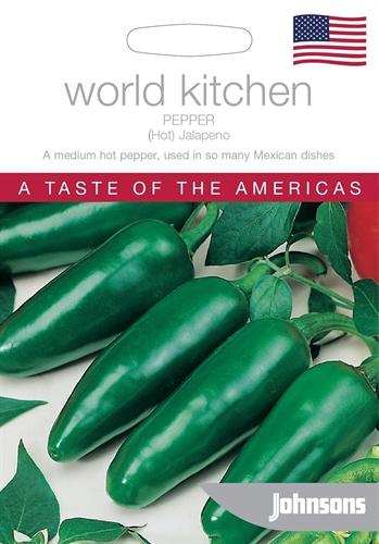 Chilli Pepper Hot Jalapeno World Kitchen USA Seed