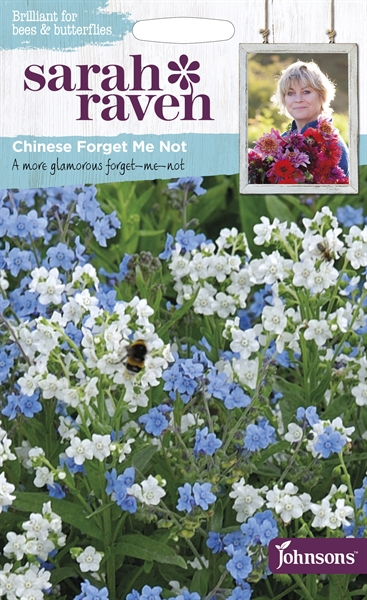 Sarah Raven Wildlife Flowers Chinese Forget Me Not seed