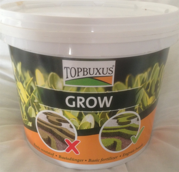 TopBuxus GROW Buxus Granular Fertiliser 5Kg