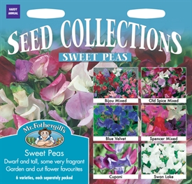 Sweet Peas Seed Collection