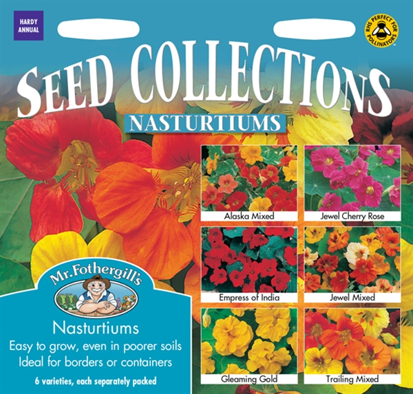 Nasturtiums Seed Collection