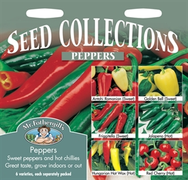 Peppers Seed Mixed Collection