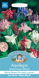 Aquilegia Biedermeier Mixed Grannies Bonnet Seed