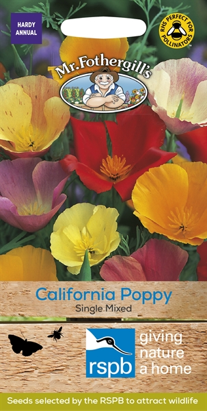 Californian Poppy Single Mixed Seed