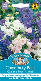 Canterbury Bells Cup & Saucer Mixed Seed