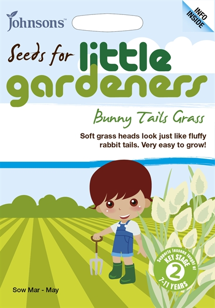 Little Gardeners  Bunny Tails Grass Seed