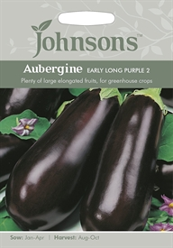 Aubergine Early Long Purple 2 Seed
