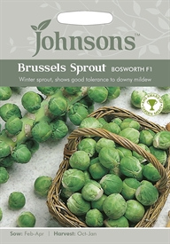 Brussels Sprout Bosworth F1 Seeds