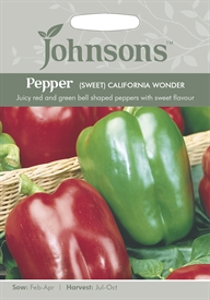 Sweet Pepper  California Wonder