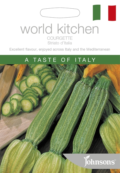 World Kitchen Italy Courgette Striato D'Italia Seed