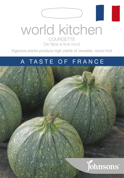World Kitchen France Courgette De Nice A Fruit Rond Seed