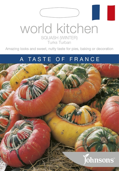 World Kitchen France Squash Turks Turban Seed