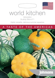 Squash Scallop Blend F1 World Kitchen USA Seed