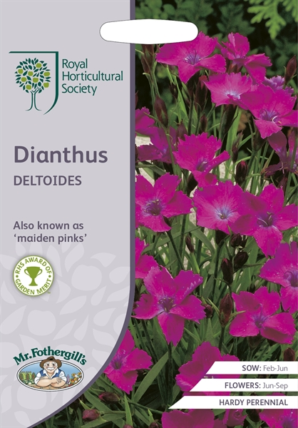 RHS DIANTHUS deltoides (Maiden Pinks) Seed