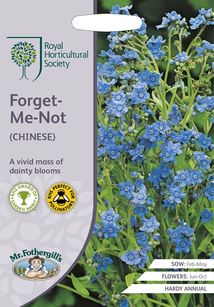 RHS FORGET-ME-NOT (Chinese Forget Me Not) Seed