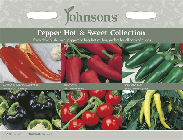 Pepper Hot and Sweet Seed Collection