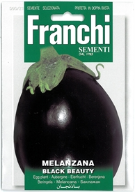 Aubergine <i>Melanzana Black Beauty</i> seed