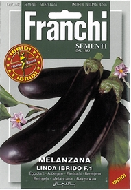 Aubergine <i>Melanzana linda Ibrido F1 &lsquo;Special Selection&rsquo;</i> seed