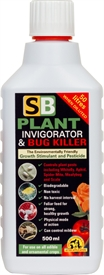 SB Plant Invigorator and Bug Killer 500ml concentrate