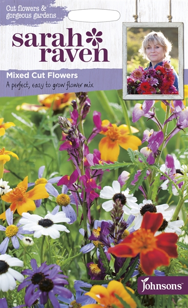 Sarah Raven Cut Flowers Mixed Cut Flowers seed