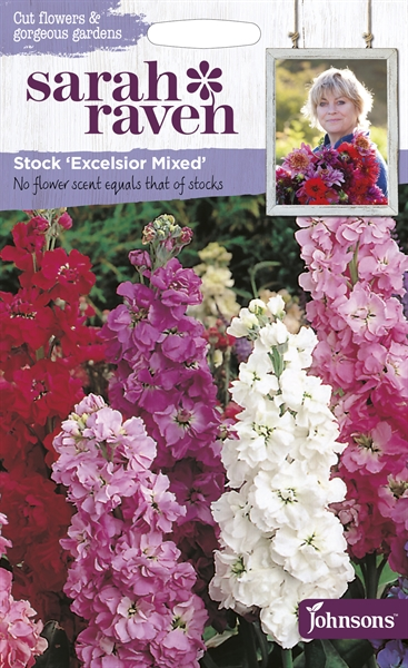 Sarah Raven Cut Flowers Stock Excelsior Mixed seed