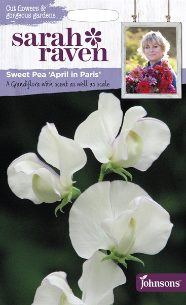Sarah Raven Cut Flowers Sweet Pea April in Paris seed