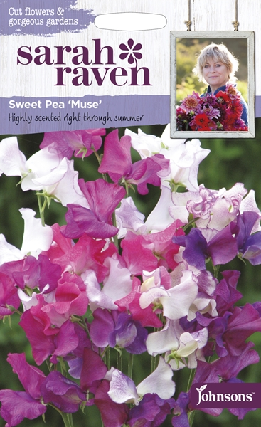 Sarah Raven Cut Flowers Sweet Pea Muse seed